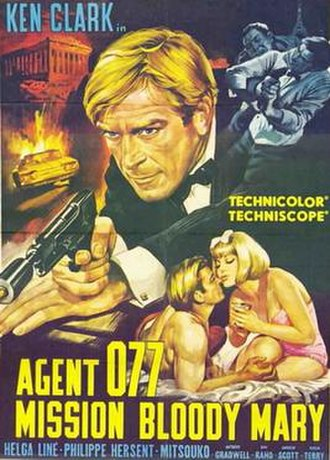 Agent 077: Mission Bloody Mary - Original film poster