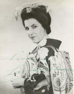 Licia Albanese - Albanese as Cio-Cio-San in Puccini's Madama Butterfly