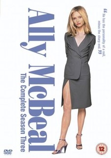 <i>Ally McBeal</i> (season 3) season of television series