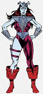 Andromeda (Marvel Comics) Character from Marvel Comics