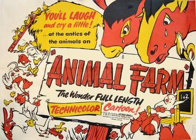 Picture of a movie: Animal Farm