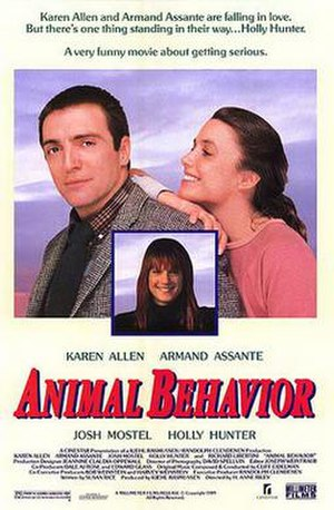 Animal Behavior (film) - Image: Animal behavior poster