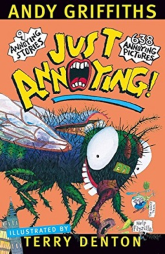 Just Annoying! - The cover of the North American version