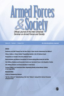 <i>Armed Forces & Society</i> Academic journal