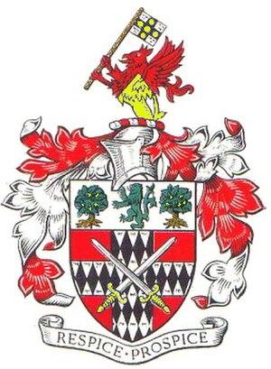 Metropolitan Borough of Stoke Newington - Arms of the metropolitan borough