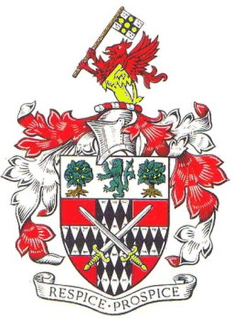 Metropolitan Borough of Stoke Newington - Arms of the metropolitan borough