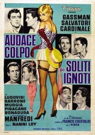 Audace colpo dei soliti ignoti - Original film poster