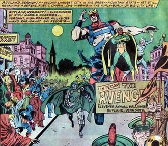 Rutland Halloween Parade - Image: Avengers 83 Rutland Halloween Parade