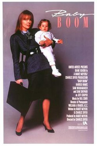 Baby Boom (film) - Theatrical release poster