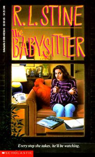 The Babysitter (novel series) - First edition cover of The Babysitter