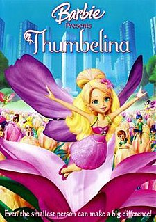 <i>Barbie: Thumbelina</i> 2009 film by Conrad Helten