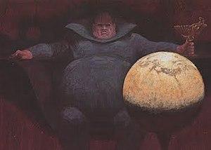Vladimir Harkonnen - Baron Vladimir Harkonnen by John Schoenherr, from The Illustrated Dune (1978)