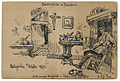Bauernstube in Flandern.WWI postcard art.Wittig collection.item 34.scan.obverse.jpg