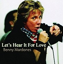 Benny Mardones Let's Hear It For Love 2006 Album Cover.jpg