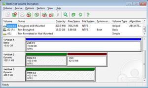 BestCrypt - Image: Best Crypt Volume Encryption v.3