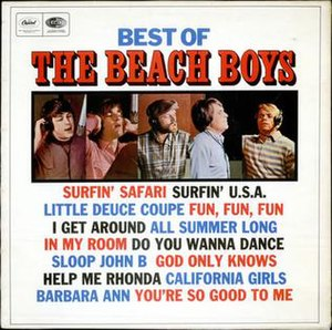 Best of the Beach Boys - Image: Best of the Beach Boys UK cover