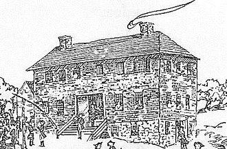 Beverly Cotton Manufactory - Illustration of Beverly Cotton Manufactory