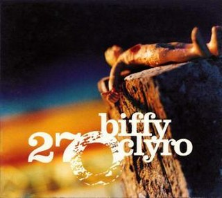 27 (song) 2002 Biffy Clyro song
