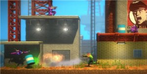 Bionic Commando Rearmed - Bionic Commando Rearmed retains the two-dimensional gameplay of the original while receiving enhanced three-dimensional graphics.
