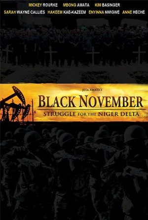 Black November - Theatrical release poster