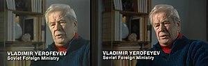 Cold War (TV series) - Image: CNN Cold War interview comparison