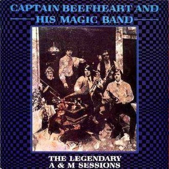 The Legendary A&M Sessions - Image: Captain Beefheart Legendary A&M Sessions