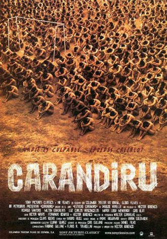 Carandiru (film) - Theatre release poster