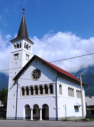 Čezsoča - Saint Anthony the Great Church