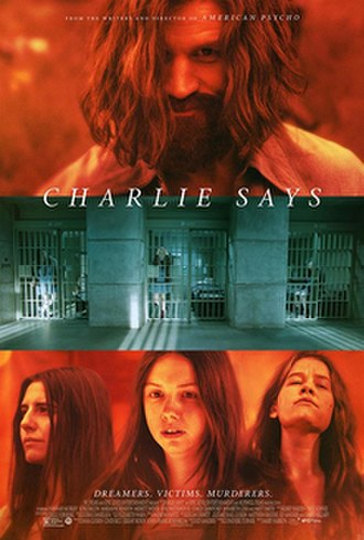 Charlie Says (2018 film) - Theatrical release poster