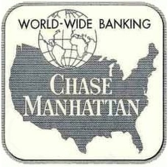 JPMorgan Chase - The logo used by Chase following the merger with the Manhattan Bank in 1954