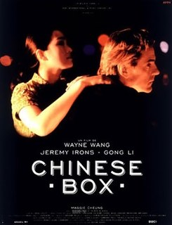 <i>Chinese Box</i> 1997 US romantic drama film by Wayne Wang