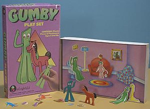 Colorforms - Gumby Colorforms