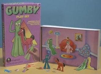 Colorforms - Gumby Colorforms