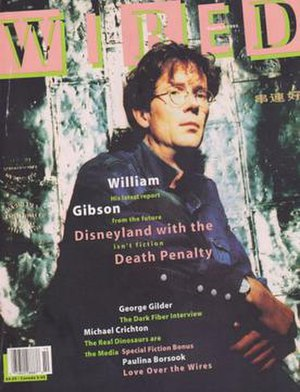 Wired (magazine) - Cover of Wired issue 1.4 September/October 1993