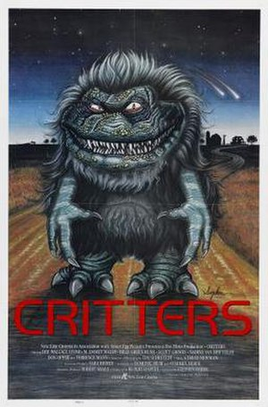 Critters (film) - Theatrical release poster