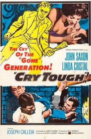 Cry Tough (film) - Theatrical release poster