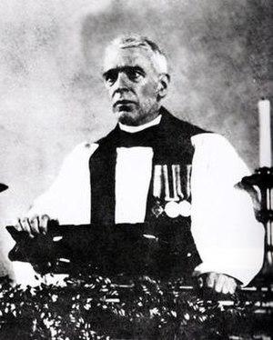 Harold Davidson - Davidson preaching in 1932