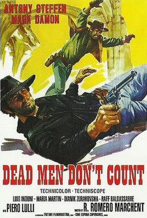Dead Men Don't Count - Image: Dead Men Don't Count