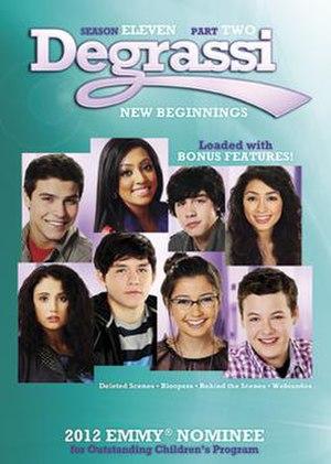 Degrassi (season 11) - Degrassi season 11 Part 2 DVD