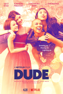 <i>Dude</i> (film) 2018 film by Olivia Milch