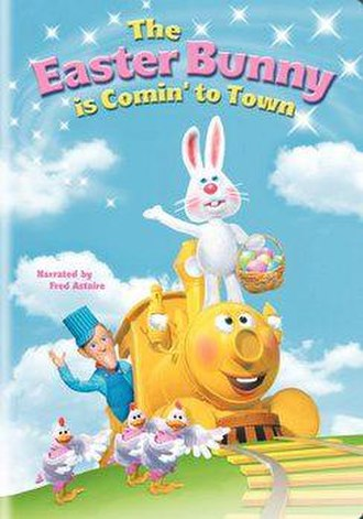 The Easter Bunny Is Comin' to Town - Cover of the DVD version