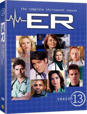 ER (season 13) - Image: ER DVD Cover Season 13