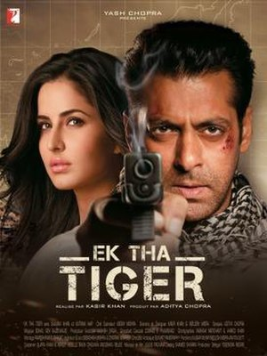 Ek Tha Tiger - Theatrical release poster