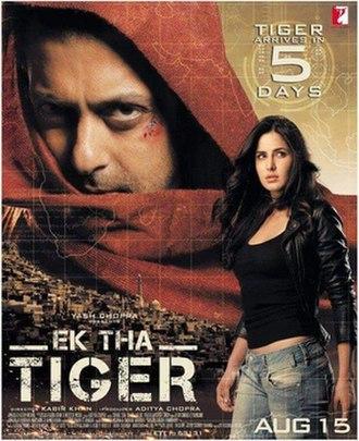 Ek Tha Tiger - Theatrical release poster