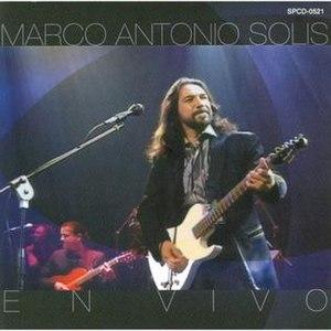 En Vivo (Marco Antonio Solís album) - Image: En Vivo Cover