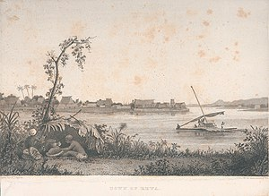 Rewa Province - Rewa as seen during the United States Exploring Expedition