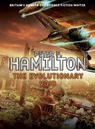 The Evolutionary Void - Cover artist Steve Stone, UK hardcover edition