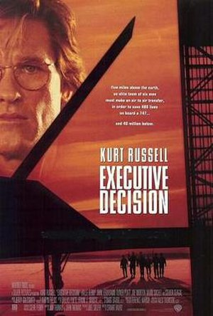 Executive Decision - Theatrical release poster