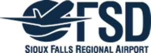Sioux Falls Regional Airport - Image: FSD logo