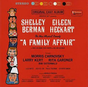 A Family Affair (musical) - Original Cast Recording